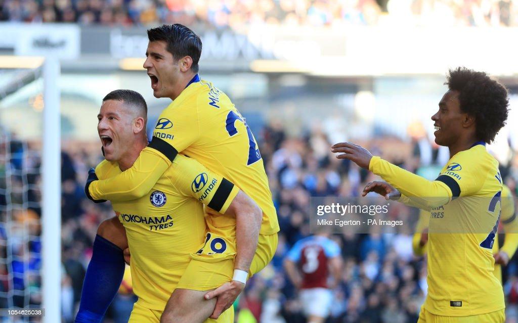 Burnley v Chelsea - Premier League - Turf Moor : News Photo