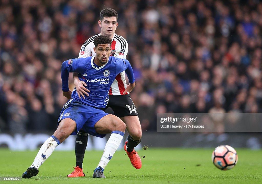 Chelsea v Brentford - Emirates FA Cup - Stamford Bridge : News Photo
