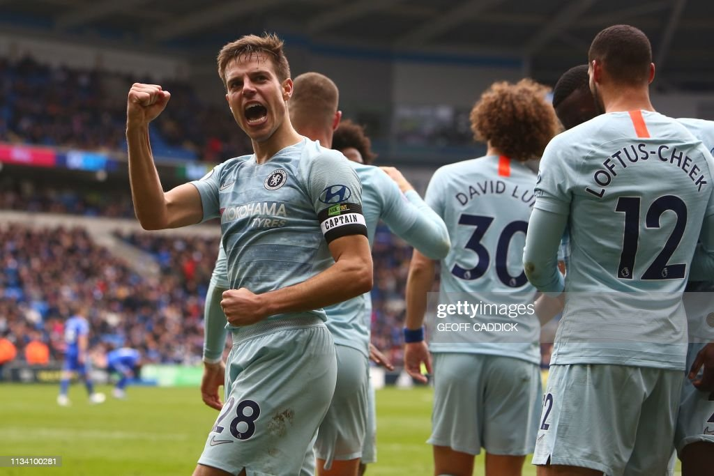 FBL-ENG-PR-CARDIFF-CHELSEA : News Photo