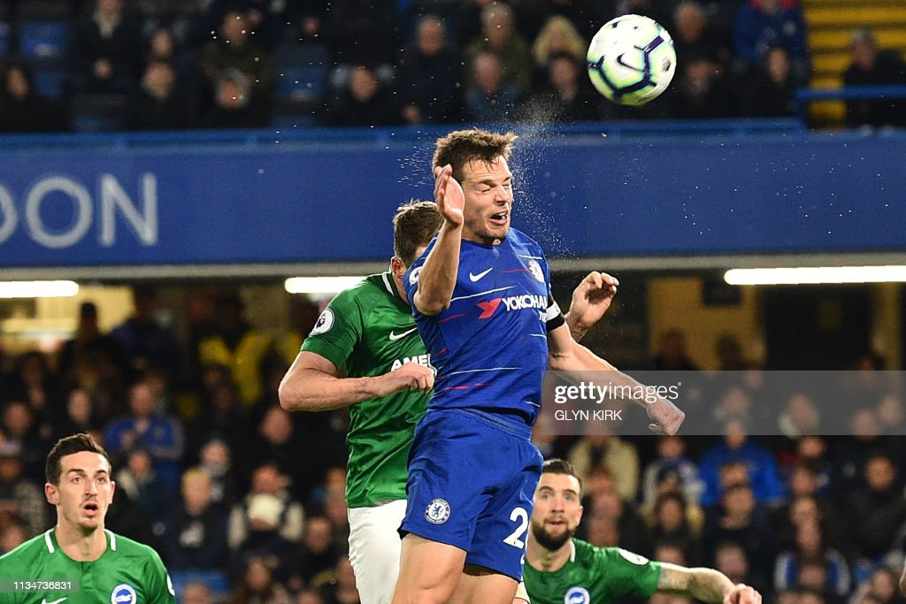 FBL-ENG-PR-CHELSEA-BRIGHTON : News Photo