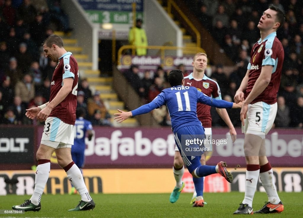 FBL-ENG-PR-BURNLEY-CHELSEA : News Photo