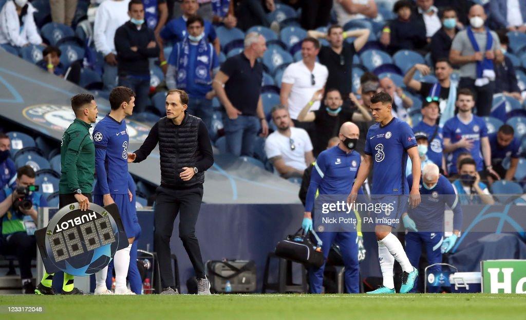 Manchester City v Chelsea - UEFA Champions League - Final - Estadio do Dragao : News Photo