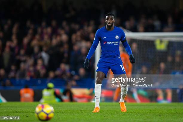 Chelsea's Tiemoue Bakayoko during the Premier League match between Chelsea and Crystal Palace at Stamford Bridge on March 10 2018 in London England
