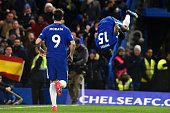 chelseas victor moses celebrates his goal