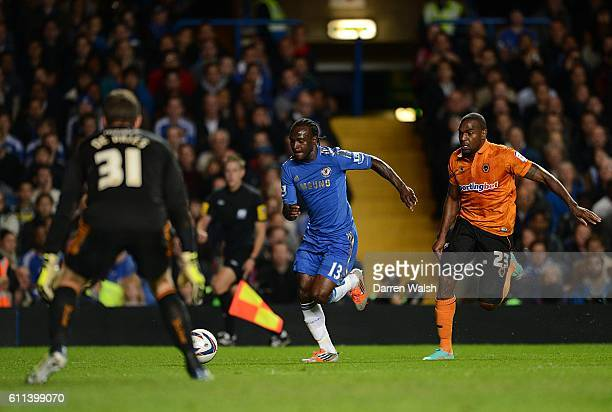 Chelsea's Victor Moses in action