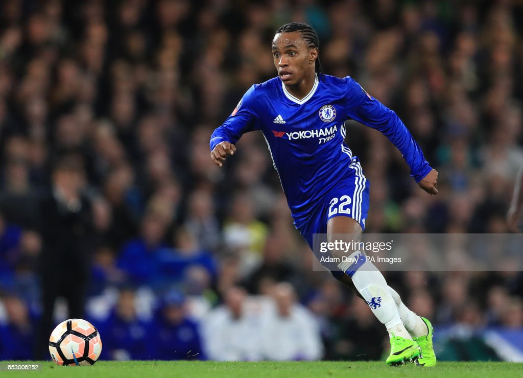 Chelsea's Willian during the Emirates FA Cup, Quarter Final match at Stamford Bridge, London.