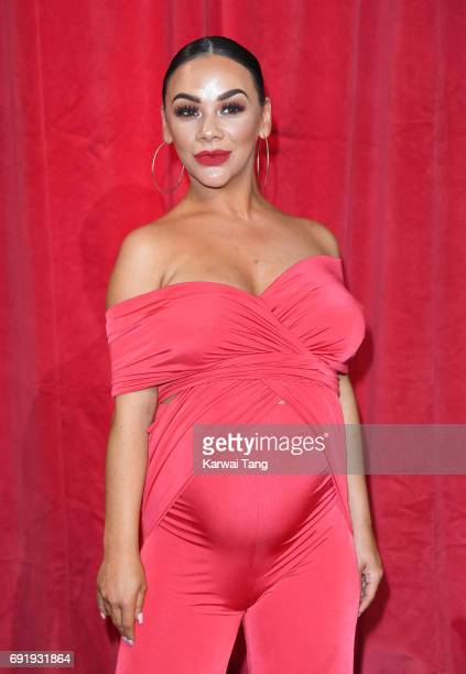 Chelsee Healey attends the British Soap Awards at The Lowry Theatre on June 3 2017 in Manchester England