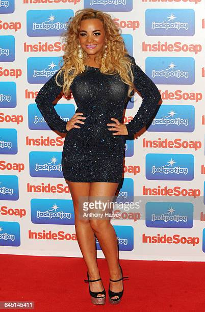 Chelsee Healey attends the Inside Soap Awards 2011 at Gilgamesh on September 26 2011 in London