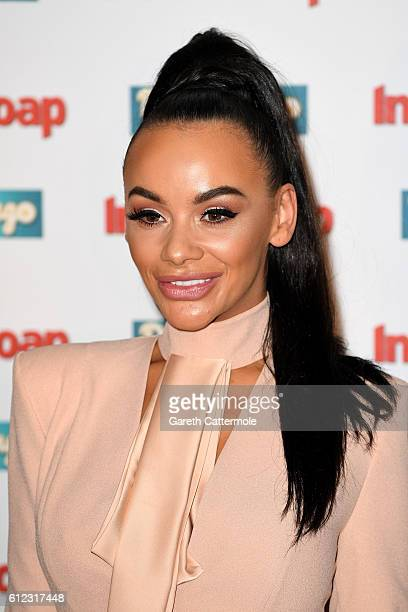 Chelsee Healey attends the Inside Soap Awards at The Hippodrome on October 3 2016 in London England