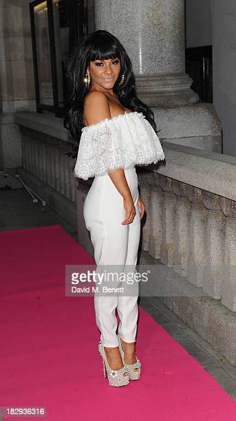 Chelsee Healey attends the Inspiration Awards for Women at Cadogan Hall on October 2 2013 in London England