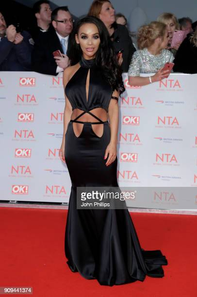 Chelsee Healey attends the National Television Awards 2018 at the O2 Arena on January 23 2018 in London England
