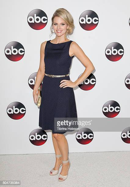 Chelsey Crisp attends the Disney/ABC 2016 Winter TCA Tour at Langham Hotel on January 9, 2016 in Pasadena, California.