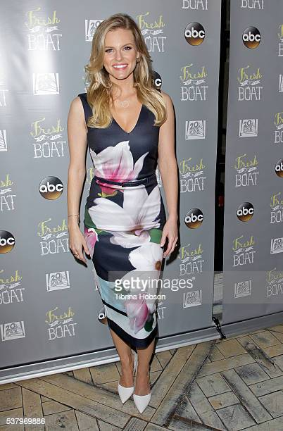 Chelsey Crisp attends the Emmy FYC event for ABC's 'Fresh Off The Boat' at The London Hotel on June 3 2016 in West Hollywood California