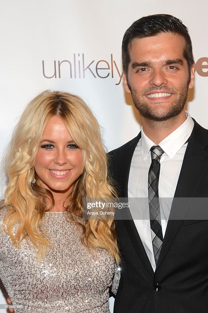 Chelsie Hightower and Ben Decker attend the Chelsie Hightower and Peta Murgatroyd Charity Birthday Party on July 18, 2013 in Los Angeles, California.
