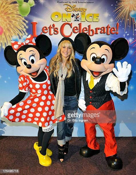Chelsie Hightower attends the after party at the LA Kings Holiday Ice Benefit for Starlight Children's Foundation at LA Live on December 15 2010 in...
