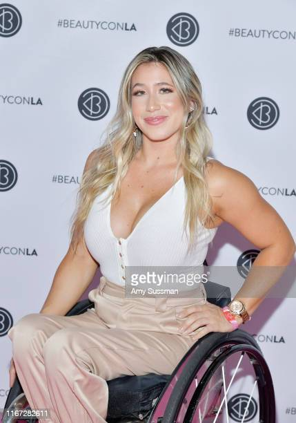 Chelsie Hill attends Beautycon Festival Los Angeles 2019 at Los Angeles Convention Center on August 10 2019 in Los Angeles California