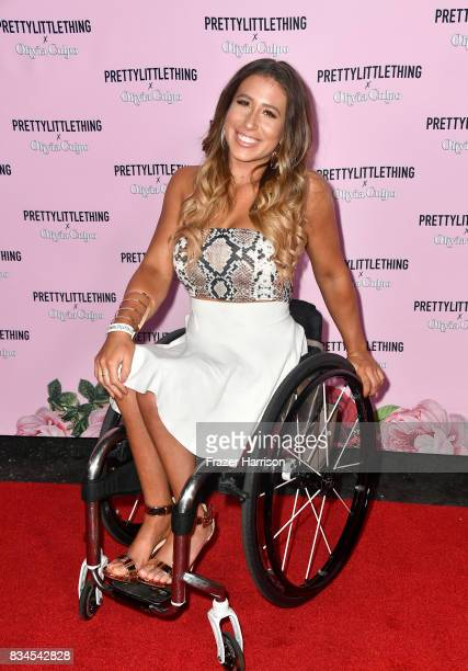 Chelsie Hill attends PrettyLittleThing X Olivia Culpo Launch at Liaison Lounge on August 17 2017 in Los Angeles California