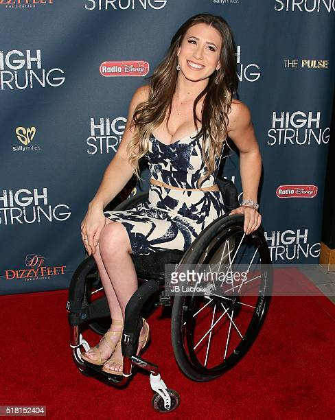 Chelsie Hill attends the premiere of Paladin's 'High Strung' at TCL Chinese Theatre on March 29 2016 in Hollywood California