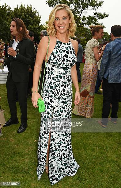 Chelsy Davy attends The Serpentine Summer Party cohosted by Tommy Hilfiger on July 6 2016 in London England