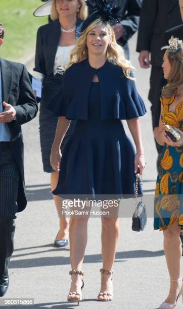 Chelsy Davy attends the wedding of Prince Harry to Ms Meghan Markle at St George's Chapel Windsor Castle on May 19 2018 in Windsor England Prince...