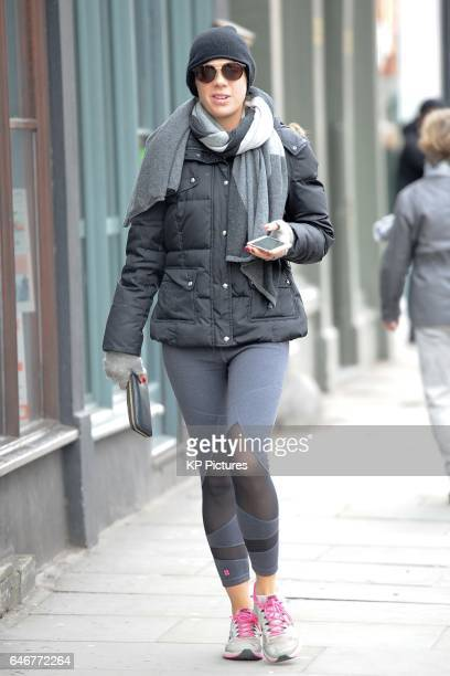 Chelsy Davy seen shopping on King's Road Chelsea February 28 2017 in London England
