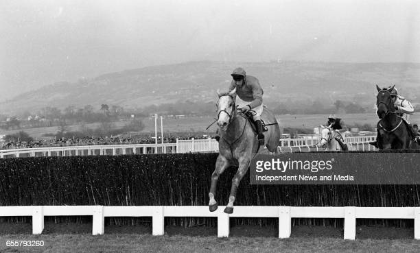 Cheltenham Day 1 in Gloucestershire England circa March 1986
