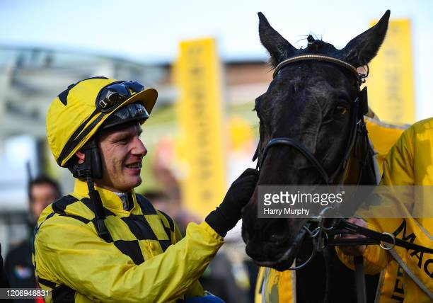 Cheltenham United Kingdom 13 March 2020 Jockey Paul Townend with Al Boum Photo after winning the Magners Cheltenham Gold Cup Chase on Day Four of the...