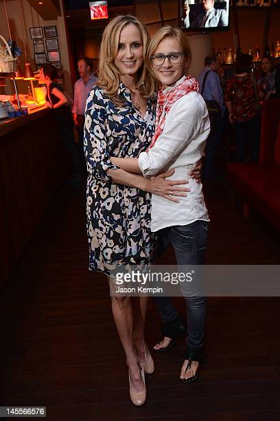 Chely Wright and Lauren Blitzer attend the Chely Wright Wish Me Away New York After Party at Zio Restaurant on June 1 2012 in New York City