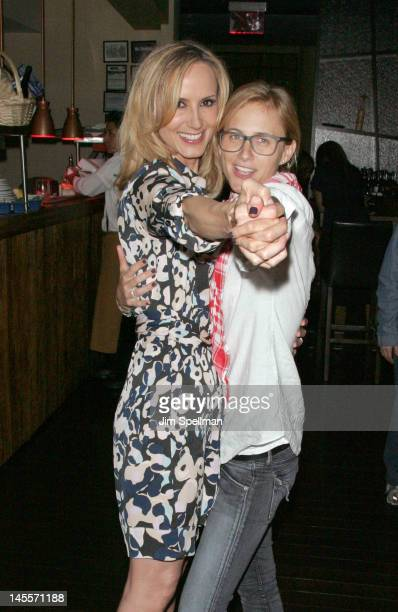 Chely Wright and Lauren Blitzer attend the Chely Wright Wish Me Away premiere after party at Zio Restaurant on June 1 2012 in New York City