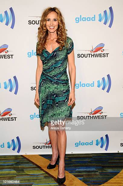 Chely Wright arrives at the 21st Annual GLAAD Media Awards at San Francisco Marriott Marquis on June 5 2010 in San Francisco California
