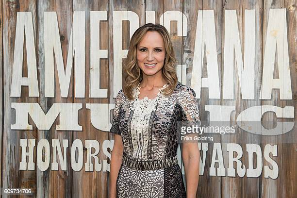 Chely Wright attends the 2016 Americana Music Honors and Awards Show at Ryman Auditorium on September 21 2016 in Nashville Tennessee