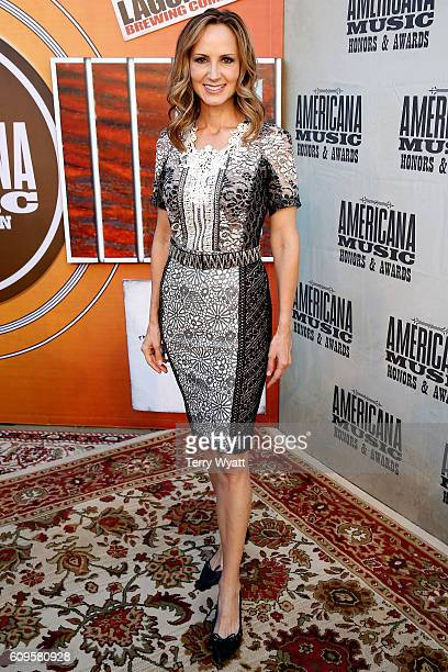 Chely Wright attends the Americana Honors Awards 2016 at Ryman Auditorium on September 21 2016 in Nashville Tennessee