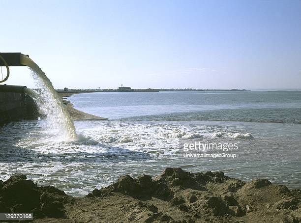 Chemical discharge into water Egypt