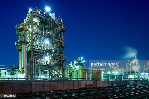 化学工場 - 川崎市 ストックフォトと画像