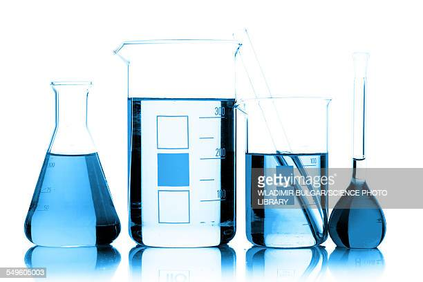 chemical glassware - beaker stock pictures, royalty-free photos & images