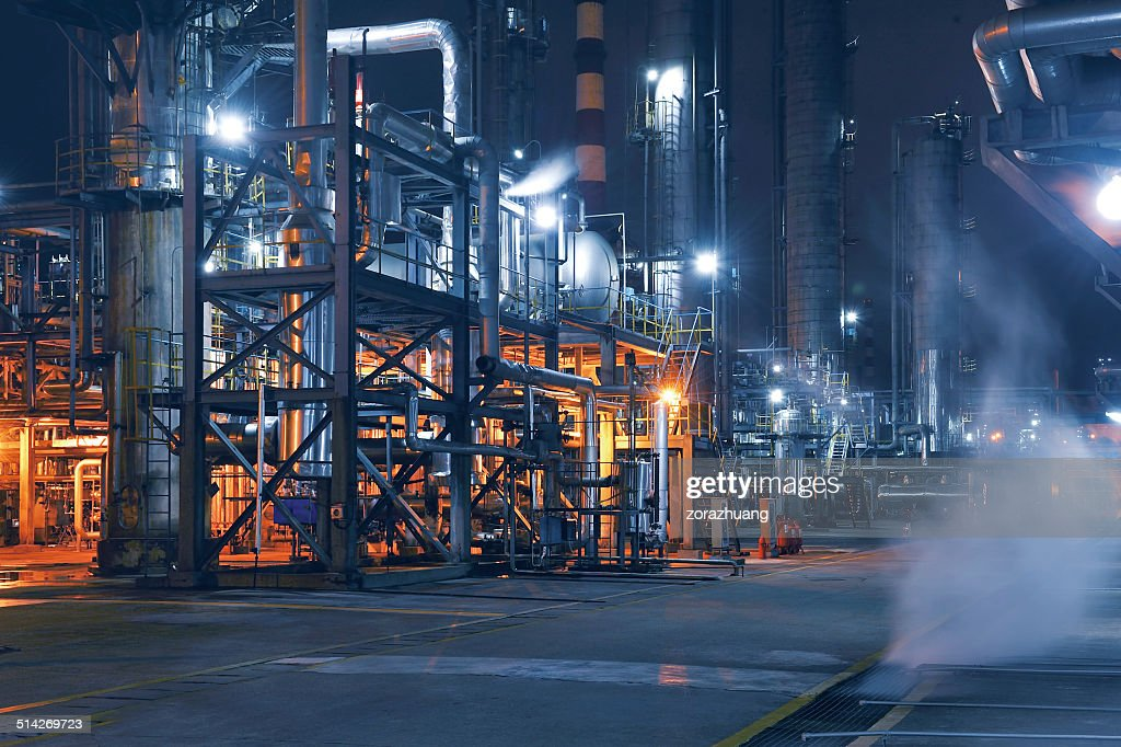 Chemical & Petrochemical Plant : Stock Photo
