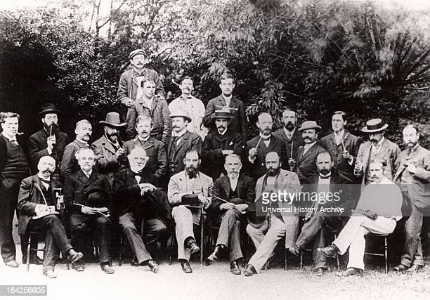 Chemical Section of the British Association for the Advancement of Science meeting at Oxford England 1894 Among those present were William Henry...