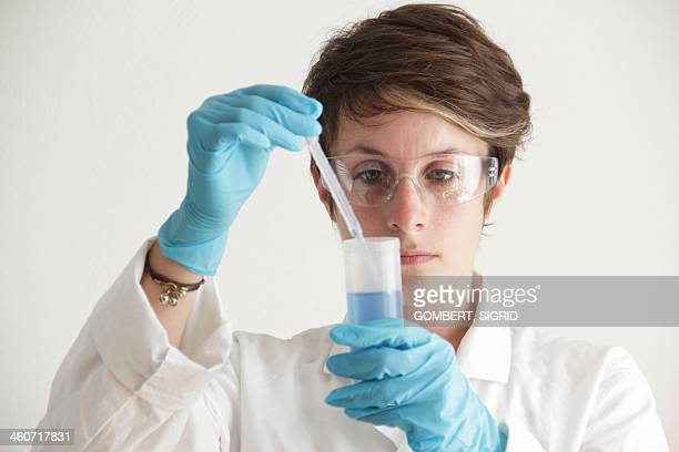 chemist - sigrid gombert stock pictures, royalty-free photos & images