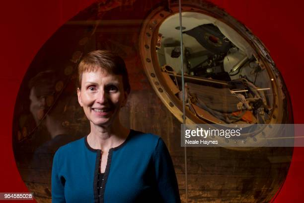 Chemist the first Briton in space and the first woman to visit the Mir space station in 1991 Helen Sharman is photographed for the Times on September...