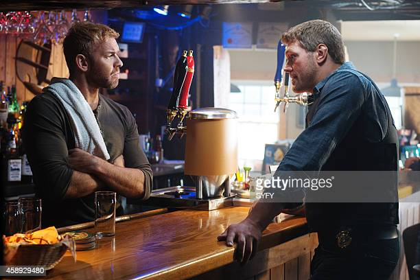 HAVEN 'Chemistry' Episode 512 Pictured Christian Cage as McHugh Adam Copeland as Dwight Hendrickson