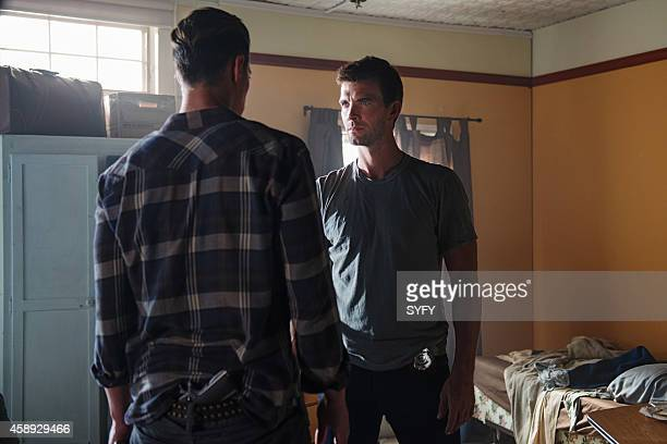 HAVEN 'Chemistry' Episode 512 Pictured Eric Balfour as Duke Crocker Lucas Bryant as Nathan Wuornos