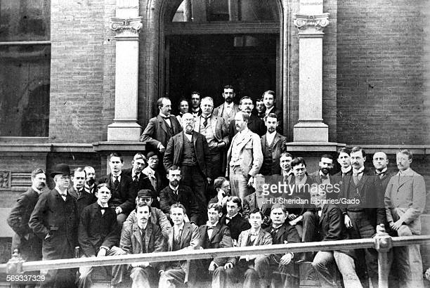 Chemistry Johns Hopkins University Baltimore Maryland 1896 Remsen Ira Wilson Francis Daniel Cook Charles Gilpin Caspari Charles Edward Nakaseko...