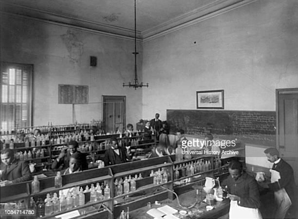 Chemistry Laboratory, Howard University, Washington DC, USA, 1900.