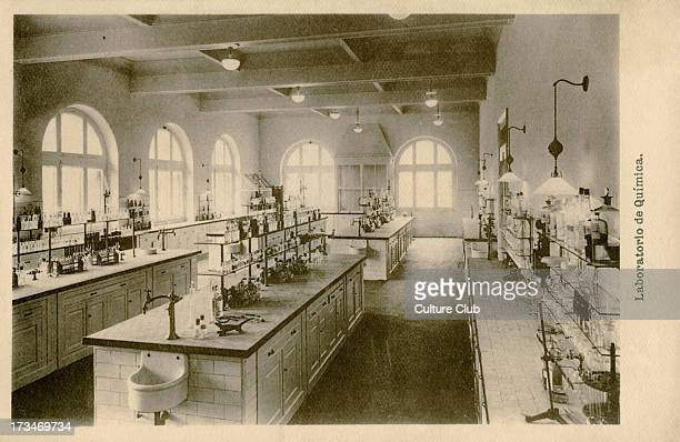 Chemistry Laboratory University of Deusto Bilbao Spain A Spanish Jesuit university and the first Basque university founded 1886