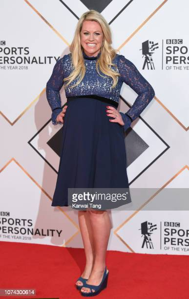 Chemmy Alcott attends the 2018 BBC Sports Personality Of The Year at The Vox Conference Centre on December 15 2018 in Birmingham England