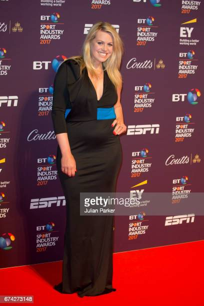 Chemmy Alcott attends the BT Sport Industry Awards at Battersea Evolution on April 27 2017 in London England