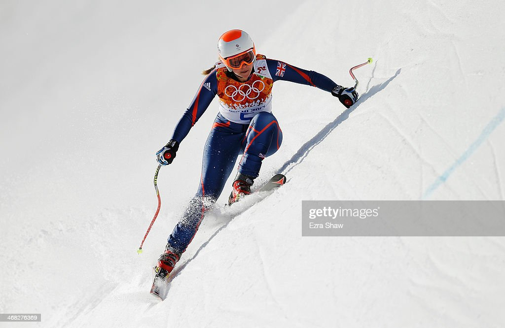 Alpine Skiing - Winter Olympics Day 3 : News Photo