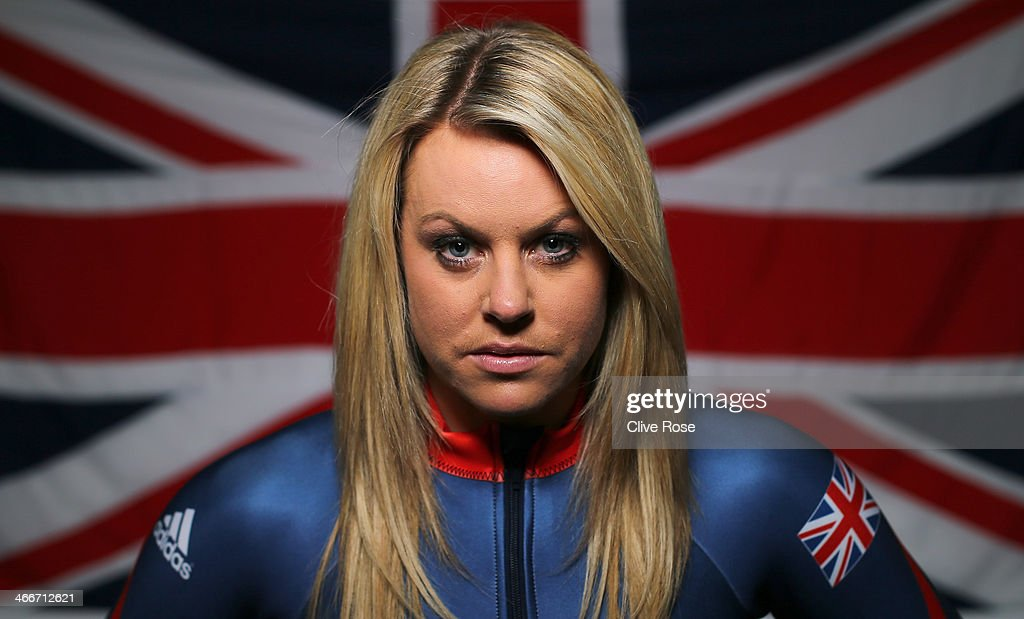 Chemmy Alcott - Team GB Sochi Portrait Session : News Photo