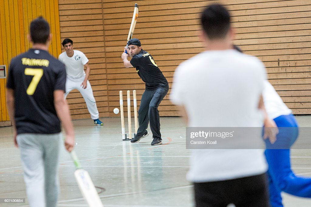 Refugees Invigorate German Cricket League : News Photo