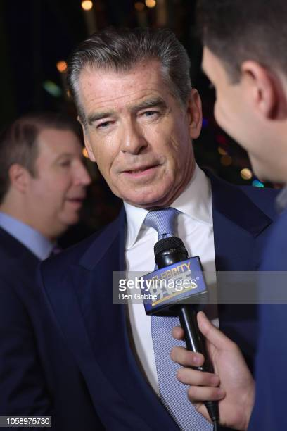 Chemotherapy Foundation honors Actor Producer and Philanthropist Pierce Brosnan with Humanitarian Award during Innovation Gala at Russian Tea Room on...